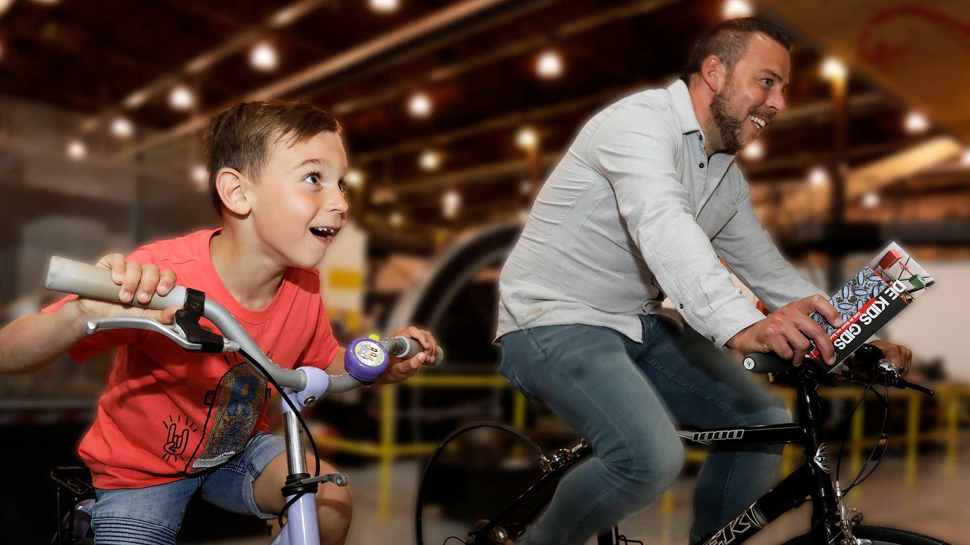 Wek energie op door te fietsen
